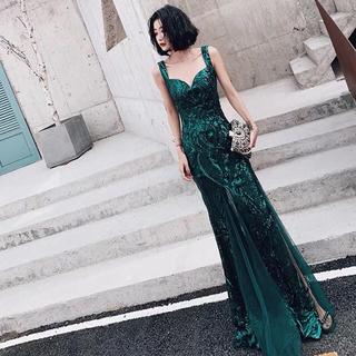 結婚式 二次会ワンピ 演奏会 謝恩会 お呼ばれドレス パーティードレス(ロングドレス)