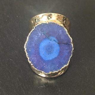 マライカ(MALAIKA)の天然石 リング 指輪 ロイヤルブルー(リング(指輪))