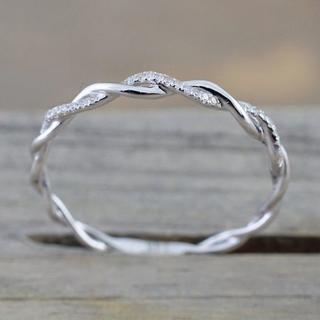 シルバー指輪(usサイズ8)(リング(指輪))
