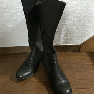 サヤ(SAYA)のSAYAロングブーツ23cm(ブーツ)