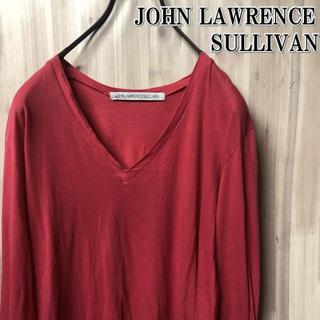 ジョンローレンスサリバン(JOHN LAWRENCE SULLIVAN)の古着 ジョンローレンスサリバン Vネックロンtee アーカイブ(Tシャツ/カットソー(七分/長袖))