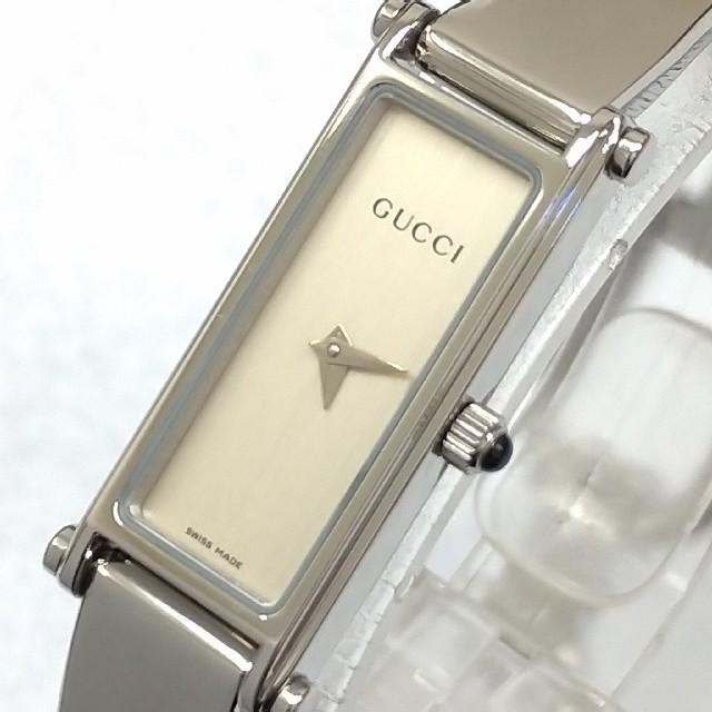 Gucci - グッチ時計 1500L 文字盤シルバー レディースの通販 by maa shop|グッチならラクマ