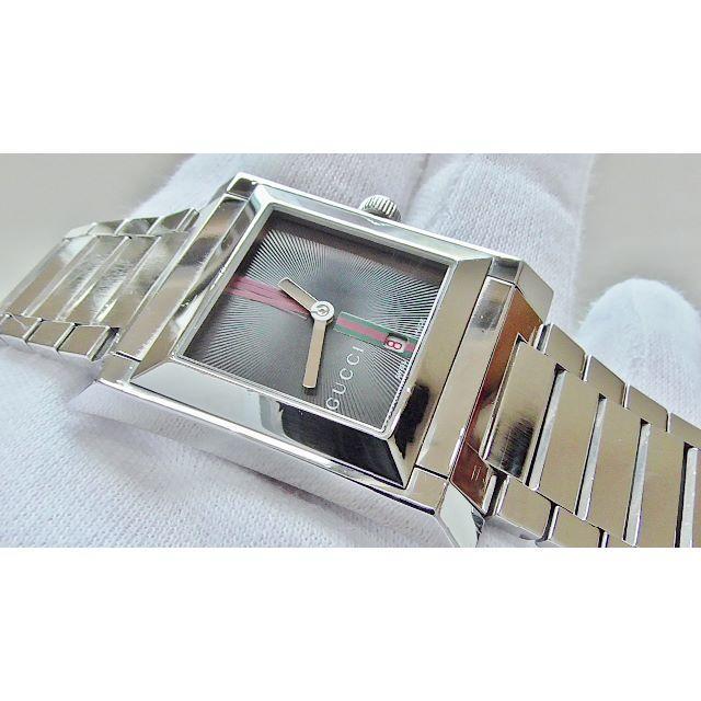 オメガ 時計 18 金 - Gucci - GUCCI グッチ 111J 男性用 クオーツ腕時計 電池新品 B2195メの通販 by hana|グッチならラクマ