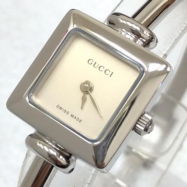 Gucci - グッチ時計 1900L 文字盤シルバー レディースの通販 by maa shop|グッチならラクマ