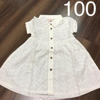 新品♡ワンピース 100cm(ワンピース)