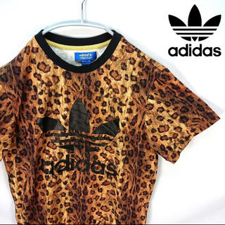アディダス(adidas)のadidas レオパードTシャツ(Tシャツ/カットソー(半袖/袖なし))