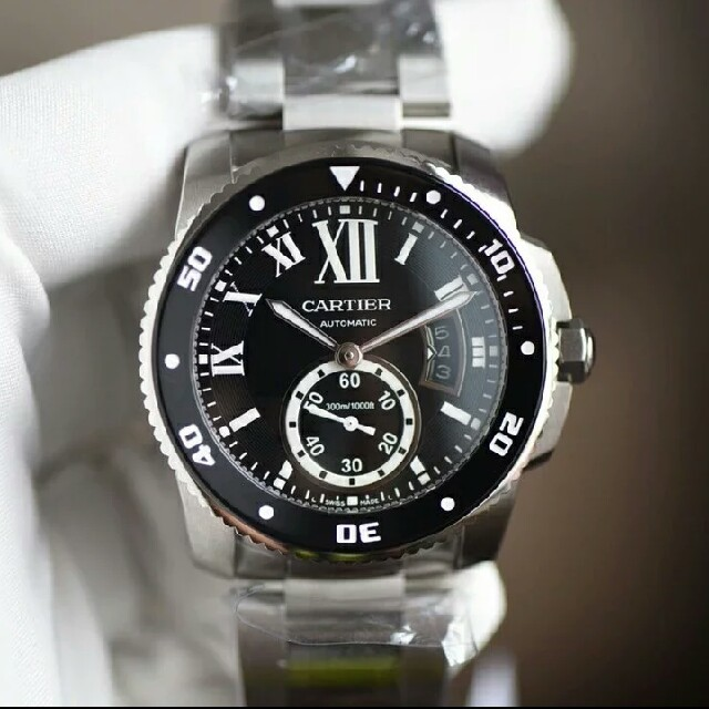 Cartier - 【カルティエ】カリブル ドゥ カルティエ ダイバー W7100057 自動巻の通販 by 智子's shop|カルティエならラクマ