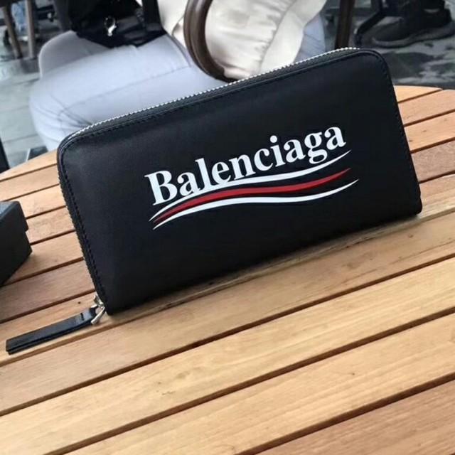 Balenciaga - お勧めBalenciaga バレンシアガ 長財布 ブラック メンズ 正規品の通販 by マツMASU's shop|バレンシアガならラクマ