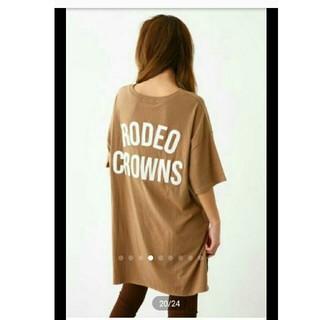 ロデオクラウンズワイドボウル(RODEO CROWNS WIDE BOWL)の新品未使用 ☆ ロデオ ✩RCWB✩ 星条旗 BIG ポケット チュニック(チュニック)