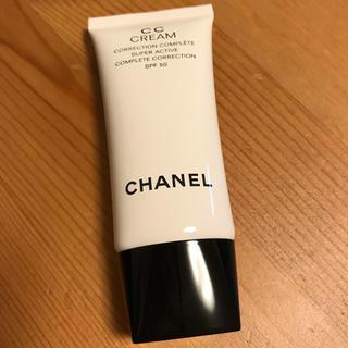 シャネル(CHANEL)のCHANEL CCクリームN 21 ベージュ 日焼け止め乳液 メークアップベース(BBクリーム)