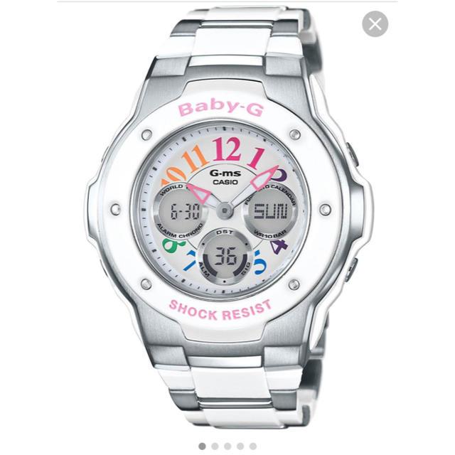 G-SHOCK - CASIO G-SHOCK baby-G 電池交換済 人気のホワイトピンクカラーの通販 by たくさん見に来てください(o^^o)しおり♡'s shop|ジーショックならラクマ