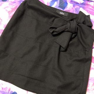 サリア(salire)のSalireリボンスカート(ミニスカート)