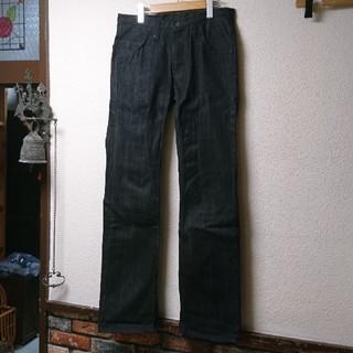 オクラ(OKURA)のOKURA ブラック ジーンズ 31インチ 美品(デニム/ジーンズ)