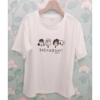 スヌーピー(SNOOPY)のスヌーピー  バッドヘア Tシャツ(Tシャツ(半袖/袖なし))