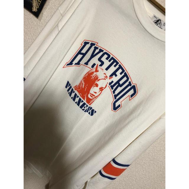 HYSTERIC GLAMOUR(ヒステリックグラマー)のHysteric Glamour VIXXXENS リブ付きロングスリーブTee メンズのトップス(Tシャツ/カットソー(七分/長袖))の商品写真