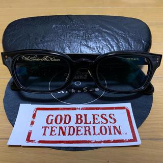 テンダーロイン(TENDERLOIN)のTENDERLOIN × 白山眼鏡 in the wind 新品未使用品(サングラス/メガネ)