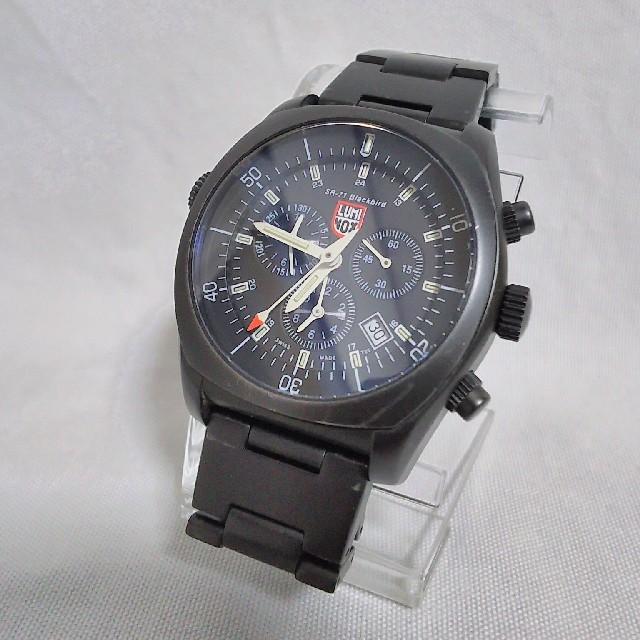 Blancpain偽物時計 、 Luminox - ルミノックスミリタリーメンズクロノグラフアラームステンレスクオーツブラックバードの通販 by ユニオン's shop|ルミノックスならラクマ