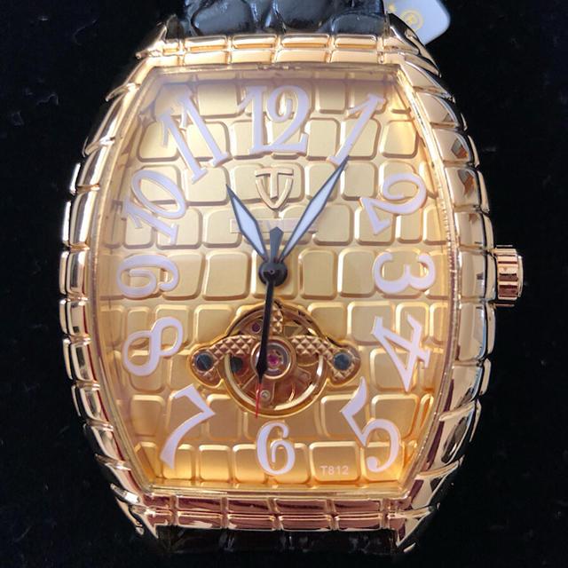 オメガ 時計 進む / 【新品】海外セレブ愛用☆高級腕時計機械式 18K GOLD デカめ文字盤の通販 by MICCHI☆ISM no.2|ラクマ