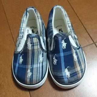 ポロラルフローレン(POLO RALPH LAUREN)のラルフローレン 子供用  靴~値下げ~(スリッポン)