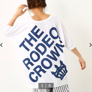 ロデオクラウンズワイドボウル(RODEO CROWNS WIDE BOWL)のロデオ★通販限定!3B チュニック 新品(チュニック)