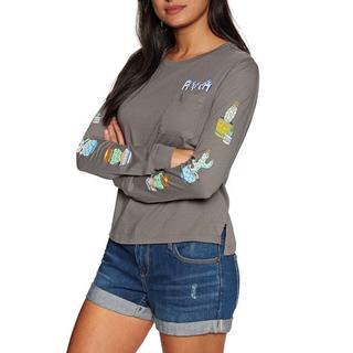 ルーカ(RVCA)のRVCAルーカ Cacti Womens 長袖 T シャツ(Tシャツ(長袖/七分))
