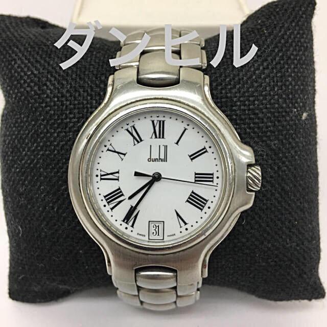 Dunhill - 鑑定済み 正規品 ダンヒル dunhill メンズ 腕時計 送料込みの通販 by 真's shop|ダンヒルならラクマ