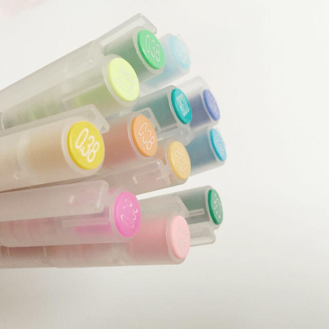 MUJI (無印良品)(ムジルシリョウヒン)の無印良品 カラーペン 12本セット インテリア/住まい/日用品の文房具(その他)の商品写真