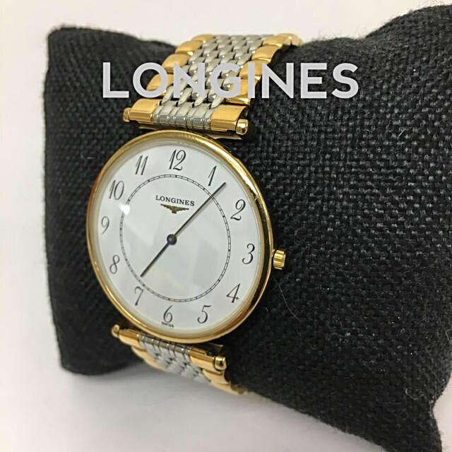LONGINES - 鑑定済み 正規品 ロンジン LONGINES 腕時計 グランドクラシック送料込みの通販 by 真's shop|ロンジンならラクマ