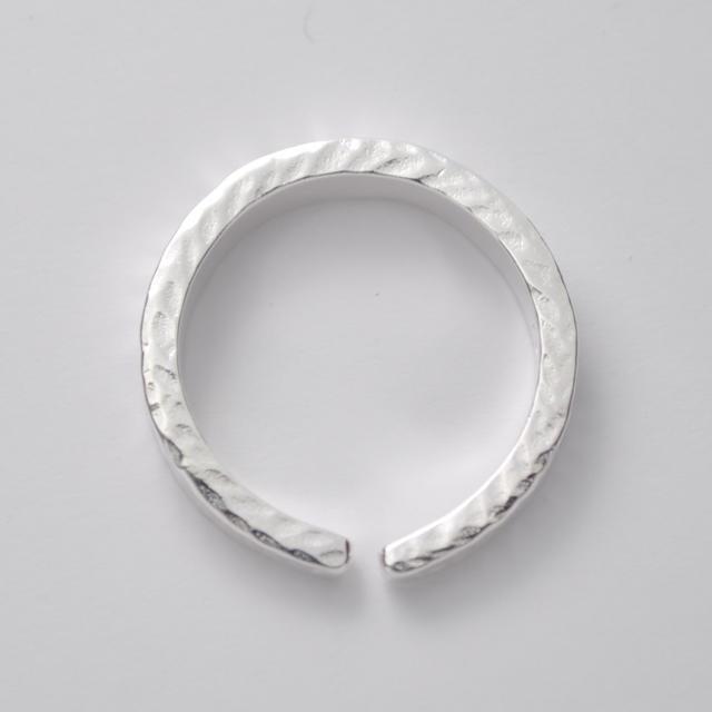 ★沖縄 ミンサーリング silver925 フリーサイズ レッド★ レディースのアクセサリー(リング(指輪))の商品写真