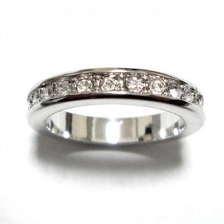 6号 フルエタニティ スワロフスキー シルバーリング(リング(指輪))