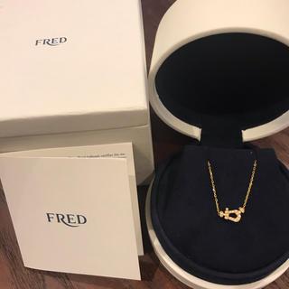 フレッド(FRED)の正規品 フレッド ネックレス イエローゴールド ダイヤ(ネックレス)