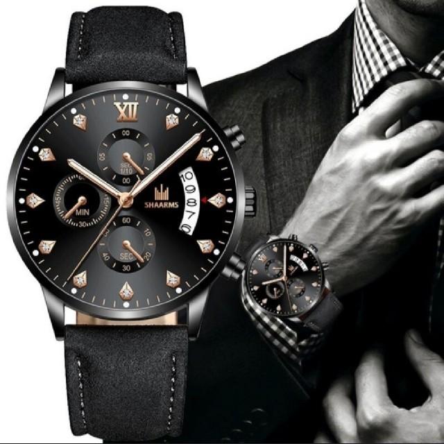 SHAARMS[海外輸入品、日本未入荷] カジュアルメンズ腕時計の通販 by ネクスト商事|ラクマ