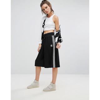 アディダス(adidas)のADIDAS アディダス ロングスカート BJ8187 S サイズ(クロップドパンツ)
