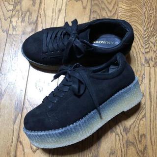 ウィゴー(WEGO)のウイゴー   厚底靴(ローファー/革靴)