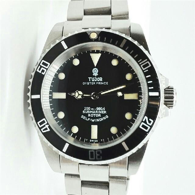 Tudor - TUDOR チュードル ヴィンテージ サブマリーナ 小薔薇 アンティーク腕時計の通販 by 三好's shop|チュードルならラクマ
