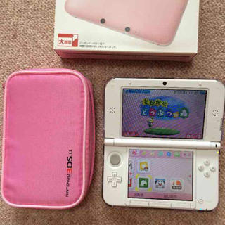 3DS LL とびだせ動物の森(携帯用ゲーム本体)