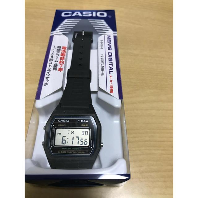 CASIO - [カシオ]CASIO 腕時計 スタンダード デジタル F-84W-1 メンズの通販 by ピクテ@9/30までセール中!|カシオならラクマ