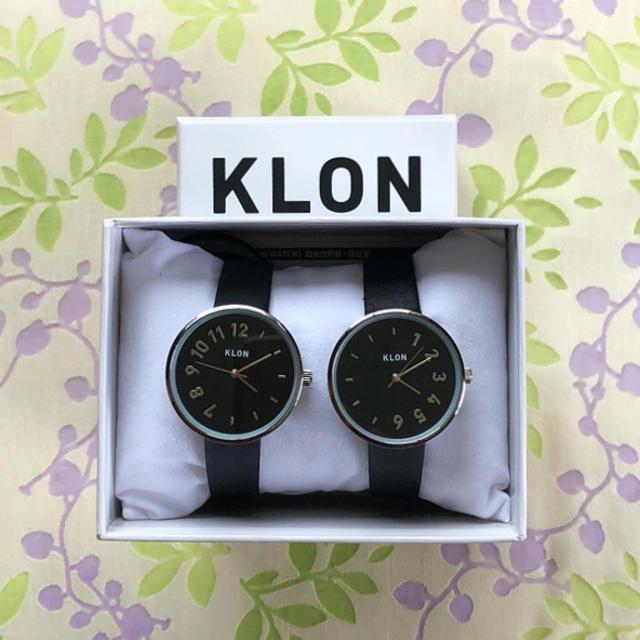 ぴっぴ 様  😊 専用  KLON  ㉔ 腕時計✨の通販 by manma's shop|ラクマ