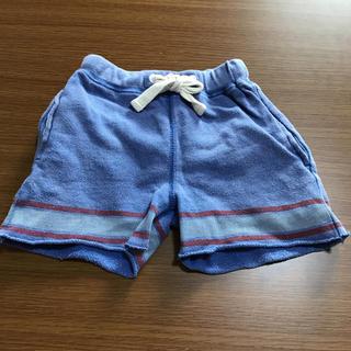 マーキーズ(MARKEY'S)のMARKEY'S ヴィンテージ デザイン ハーフ パンツ 80 ブルー(パンツ)
