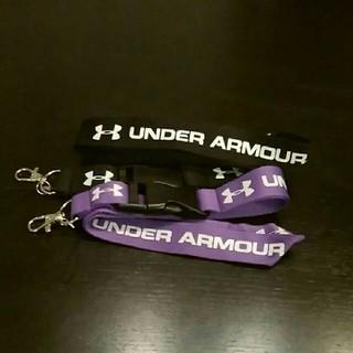 アンダーアーマー(UNDER ARMOUR)のネックストラップ2本セット スマホストラップ フェス 社員証等(ネックストラップ)