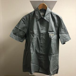 カルバンクライン(Calvin Klein)の[古着屋購入]Calvin Klein Jeans ロゴシャツ グレー M(ポロシャツ)