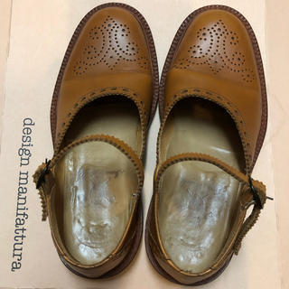 スピックアンドスパン(Spick and Span)の《美品》spick&span ウイングチップ ストラップシューズ(ローファー/革靴)