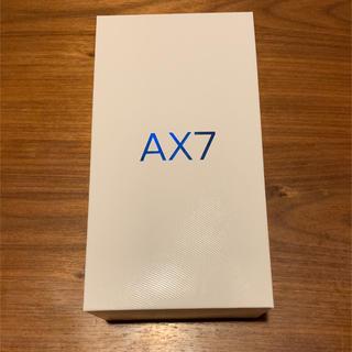oppo AX7(スマートフォン本体)