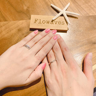結婚指輪 Flowaves  In your arms(リング(指輪))