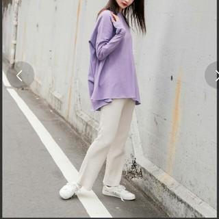 ニコアンド(niko and...)の《新品》niko and...☆オーバーダイビッグTシャツ(Tシャツ(長袖/七分))