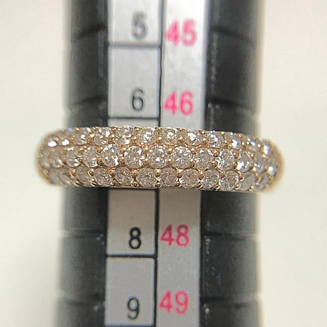PonteVecchio(ポンテヴェキオ)のポンテヴェキオ K18PG ダイヤモンドリング D0.40ct レディースのアクセサリー(リング(指輪))の商品写真