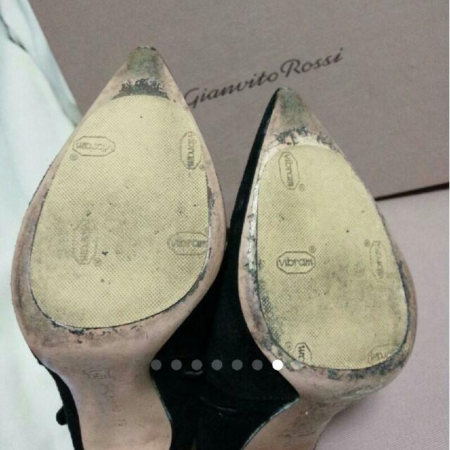 Gianvito Rossi(ジャンヴィットロッシ)の8/30確認用☆ジャンヴィトロッシ ショートブーツ ブーティ レディースの靴/シューズ(ブーティ)の商品写真