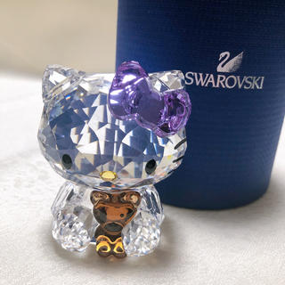 スワロフスキー(SWAROVSKI)のCOA様専用 SWAROVSKIスワロフスキー サンリオ キティ ベア(置物)