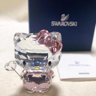 スワロフスキー(SWAROVSKI)のSWAROVSKI スワロフスキー サンリオキティ 天使妖精 フィギュリン 置物(置物)