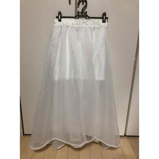 スワンキス(Swankiss)のlastvirginのチュールスカート(ロングスカート)